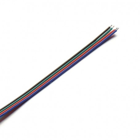 NedRo, Extension Connector Wire for RGB LED strips, LED connectors, LSCC46-CB, EtronixCenter.com