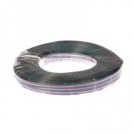 NedRo - 5-Pin RGBW LED extension wire for RGBW LED strips - LED connectors - LSCC50-100M www.NedRo.us