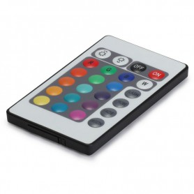 NedRo, RGB LED IR Remote Controller 24 buttons + cabinet, LED Accessories, LCR18, EtronixCenter.com