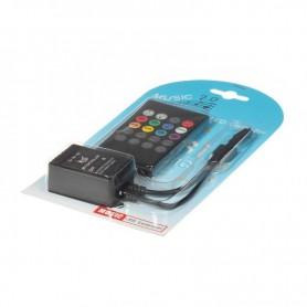 NedRo, Controler / Telecomandă IR RGB Muzică, LED Accessorii, LCR09, EtronixCenter.com