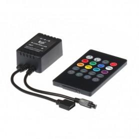 NedRo - Controler / Telecomandă IR RGB Muzică - LED Accessorii - LCR09 www.NedRo.ro