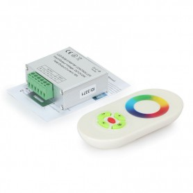 RF Touch Controller and Remote White for RGB LEDstrip