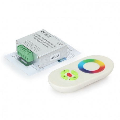 NedRo - RF Touch Controller and Remote White for RGB LEDstrip - LED Accessories - LCR34