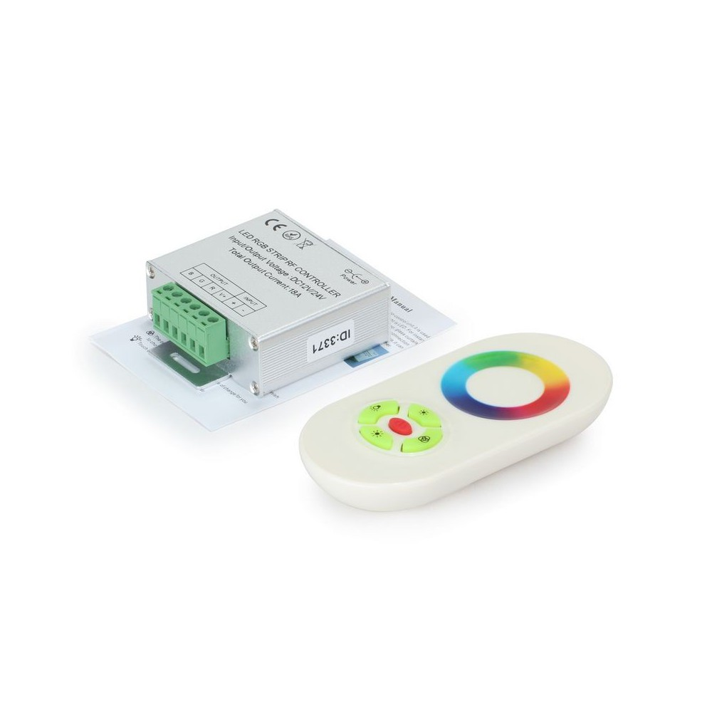 NedRo - RF Touch Controller and Remote White for RGB LEDstrip - LED Accessorii - LCR34 www.NedRo.ro