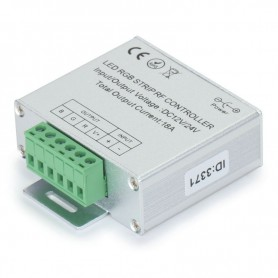 NedRo - RF Touch Controller en Remote voor RGB LED strips Wit - LED Accessoires - LCR34 www.NedRo.nl