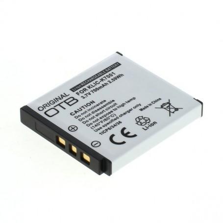 OTB - Batterij voor Kodak Klic-7001 Li-Ion ON1462 - Kodak foto-video batterijen - ON1462 www.NedRo.nl