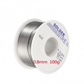 Unbranded, 100g Sarma de lipire cositor 0.8mm, Accesori lipire, AL016, EtronixCenter.com