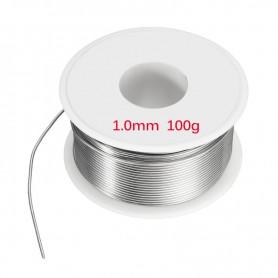 Unbranded - 100g Sarma de lipire cositor 1mm - Accesori lipire - AL023 www.NedRo.ro