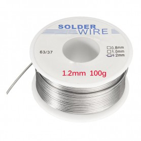 Unbranded, 100g Solder welding Tin Lead Line wire 1.2mm, Solder accessories, AL027