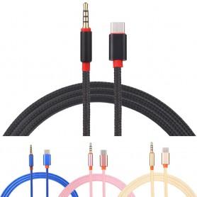 USB-C Type C Male naar Audio Jack 3.5mm Male