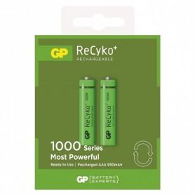 GP, GP R03/AAA GP ReCyko+ 1000 Series 950mAh oplaadbaar, AAA formaat, BS105-CB, EtronixCenter.com