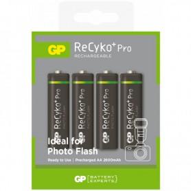 GP R6/AA ReCyko+ Pro Photo Flash 2600mAh oplaadbaar