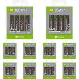 GP - GP R6/AA ReCyko+ Pro Photo Flash 2600mAh Rechargeable - Size AA - BL268-CB www.NedRo.us