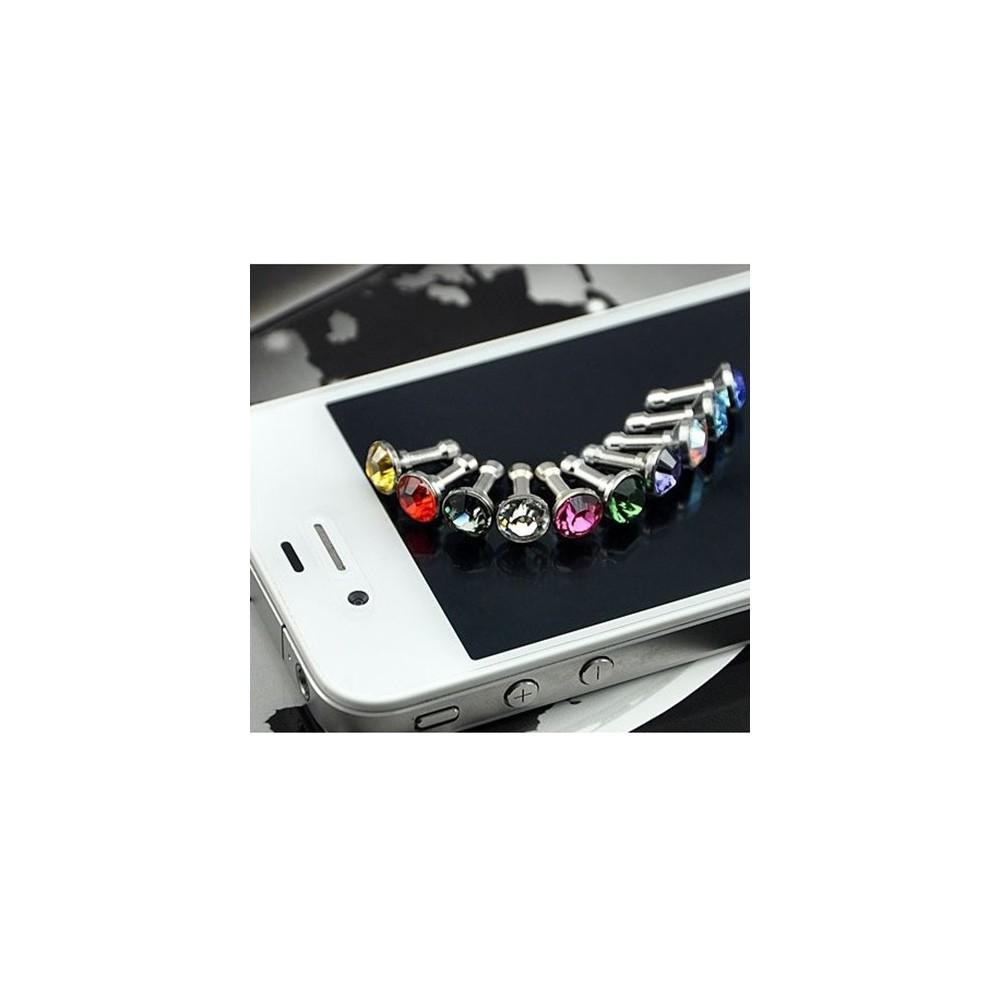 NedRo - 10 Stuks 3.5mm Diamant Stofkap iPhone Samsung HTC Sony - Telefoon accessoires - AL057 www.NedRo.nl