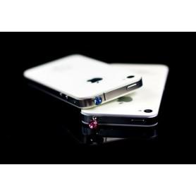 NedRo, 10 Stuks 3.5mm Diamant Stofkap iPhone Samsung HTC Sony, Telefoon accessoires, AL057, EtronixCenter.com