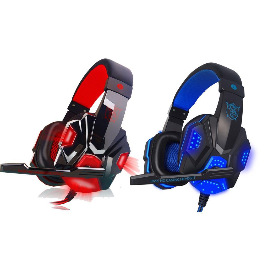 NedRo - Surround Stereo Gaming Headset mit Mikrofon und LED - Headsets and accessories - AL071 www.NedRo.de