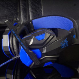 NedRo - Surround Stereo Gaming Headset with Mic and LED - Headsets and accessories - AL071-CB www.NedRo.us