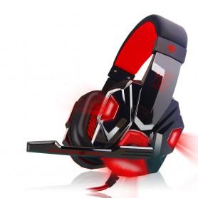 NedRo, Căști stereo surround pentru jocuri cu mic și LED, Căști si accesorii, AL071-CB, EtronixCenter.com