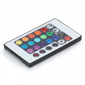NedRo - 12V 24 taste RGB muzică controler LED senzor de sunet Negru - LED Accessorii - LCR33 www.NedRo.ro