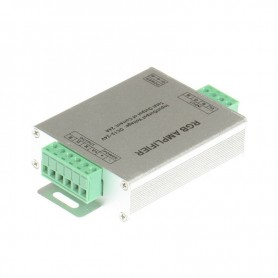 NedRo, 12V-24V 24A RGB LED controler amplificator de semnal, LED Accessorii, LCR70, EtronixCenter.com