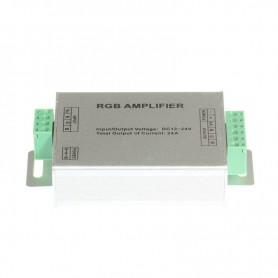 NedRo, 12V-24V 24A RGB LED Signal Amplifier Controller, LED Accessories, LCR70, EtronixCenter.com