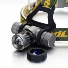 NedRo - 300-700Lm CREE XPE White Red Blue Green LED Headlight With Battery Included - Flashlights - HLP02 www.NedRo.us