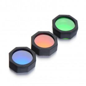 CREE LED - 300-700Lm CREE XPE Wit Rood Blauw Groen LED hoofdlamp - Zaklampen - HLP02 www.NedRo.nl