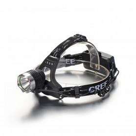 NedRo, Lanterna de cap LED 300-700Lm CREE XPE Multicolor cu Acumulator 18650 inclus, Lanterne, HLP02, EtronixCenter.com