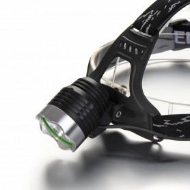 CREE LED - 1200Lm Pluto CREE XM-L T6 LED hoofdlamp - Zaklampen - HLP04 www.NedRo.nl
