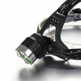 NedRo - 1200Lm Pluto CREE XM-L T6 LED Bike Headlight - Flashlights - HLP04 www.NedRo.us