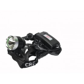 NedRo, 1200Lm Pluto CREE XM-L T6 LED hoofdlamp, Zaklampen, HLP04, EtronixCenter.com