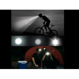 unbranded, 1200Lm Pluto CREE XM-L T6 LED Bike Headlight, Flashlights, HLP04