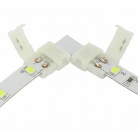 NedRo, Conector L de 8mm pentru benzi LED de 1 culoare SMD3528, Conectori LED, LSC21-CB, EtronixCenter.com