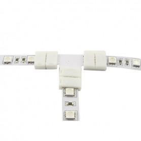 Conector T de 10mm pentru benzi LED de 1 culoare SMD5050 5630