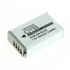 Batterij voor Nikon EN-EL24 Li-Ion 800mAh