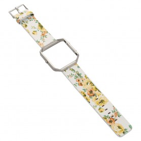 NedRo, Flowery Hip Eco Leather Bracelet for Fitbit Blaze with Housing, Bracelets, AL089-CB