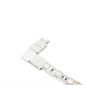 NedRo - Conector L de 10mm pentru benzi RGB SMD5050 5630 - Conectori LED - LSC27-CB www.NedRo.ro