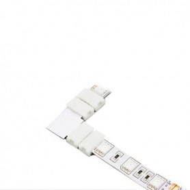 NedRo - 10mm L Connector voor RGB SMD5050 5630 LED strips - LED connectors - LSC27-1x www.NedRo.nl
