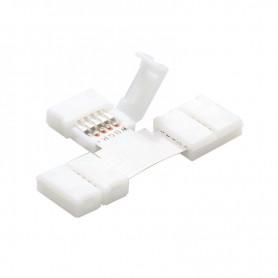 NedRo, Conector T 5Pini de 12mm pentru benzi RGBW SMD5050 5630, Conectori LED, LSC42-CB, EtronixCenter.com