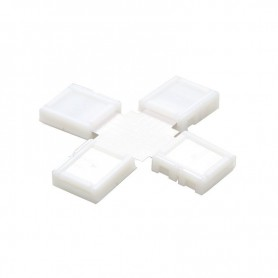 NedRo - 12mm 5Pin X Connector voor RGBW SMD5050 5630 LED strips - LED connectors - LSC43-CB www.NedRo.nl