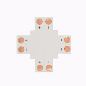 Oem - 8mm X PCB Connector for 1 color SMD3528 3014 LED strips - LED connectors - LSC14-CB