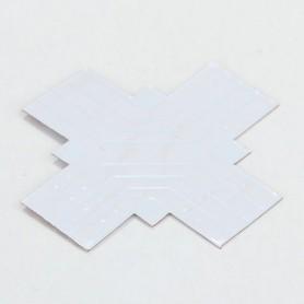 NedRo, Conector PCB X de 8mm pentru benzi LED de 1 culoare SMD3528 3014, Conectori LED, LSC14-CB, EtronixCenter.com
