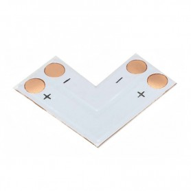 NedRo - 10mm L PCB Connector for 1 color SMD5050 5630 LED strips - LED connectors - LSC15-CB www.NedRo.us