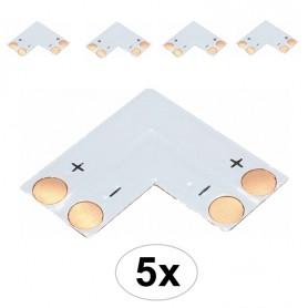 Oem - 10mm L PCB Connector for 1 color SMD5050 5630 LED strips - LED connectors - LSC15-CB