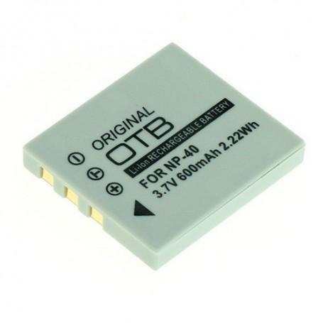 OTB, Battery for Fuji NP-40 / Pentax D-LI85 / Samsung SLB-0737/0837, Fujifilm photo-video batteries, ON1808