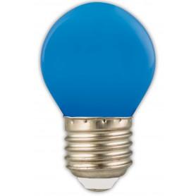 Calex - Calex LED kogellamp 240V 1W 12lm E27 blauw - E27 LED - CA0090-10x www.NedRo.nl