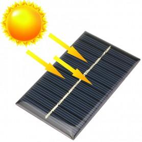 NedRo - 6V 1W 110x60mm Mini zonnepaneel - Zonnepanelen en Windturbines - AL104 www.NedRo.nl