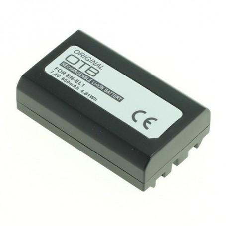 OTB - Battery for Nikon EN-EL1 / Konica Minolta NP-800 650mAh - Nikon photo-video batteries - ON1809