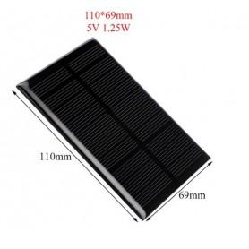 NedRo - 5V 1.25W 110x69mm Mini solar panel - Solar panels - AL111-C www.NedRo.us