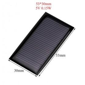 unbranded, 5V 0.15W 53x30mm Mini solar panel, DIY Solar, AL114